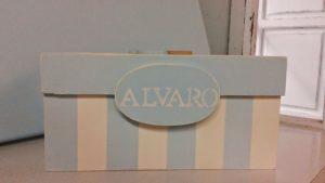 Caja de chupetes Álvaro