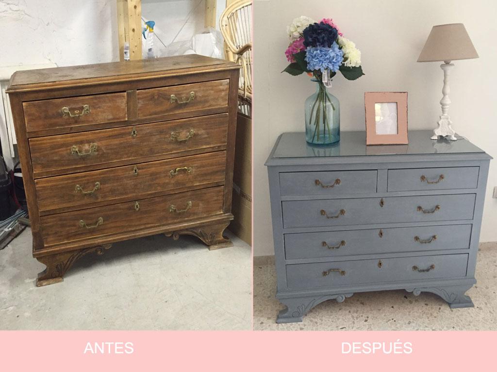 Muebles reformados antes y despues obtenga ideas dise o for Restaurar muebles viejos antes y despues