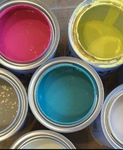 Pintura a la Tiza